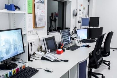 scanner operate room