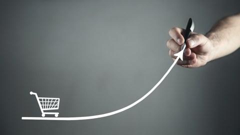 Einkaufswagen_Sales-Kurve