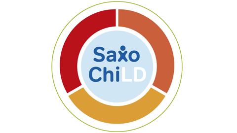 kreisförmiges Logo mit der Aufschrift SaxoChiLD