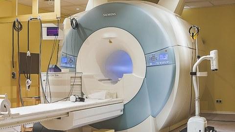 Foto eines Magnetresonanztomographens von der Firma Siemens