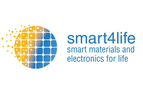 Logo smart4life - Smart Materials and Electronics for Life