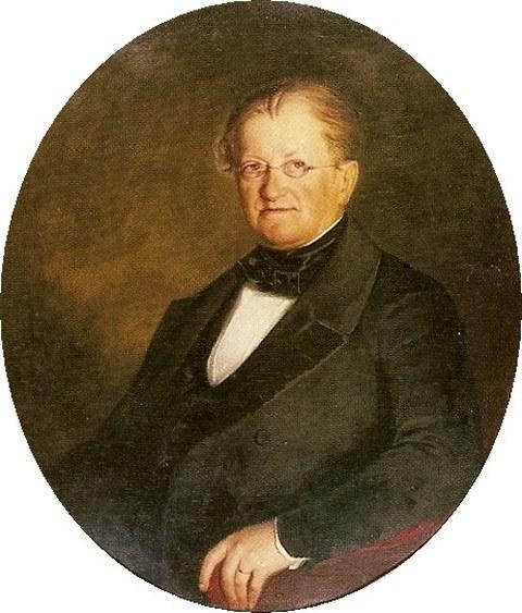 Portrait von Carl Adolph Terscheck