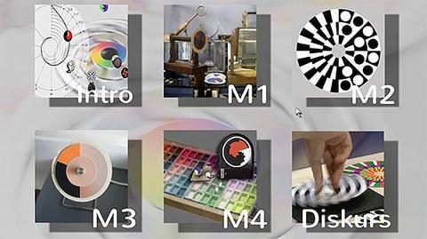 Der modular gestaltete Lehrfilm vermittelt Einblicke in die Geschichte der Experimente mit Farbkreiseln und soll zur unmittelbaren Anschauung der zahlreichen visuellen Phänomene bei rotierenden Scheiben anregen. (Ein Film von Eckhard Bendin und Lisa Ewald mit Unterstützung des Medienzentrums der TU Dresden, Dresden 2014).