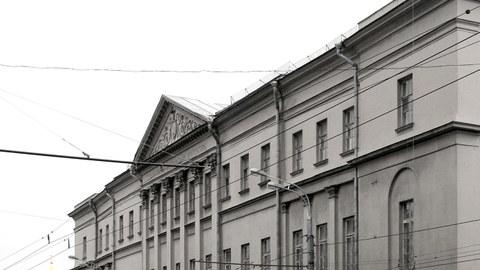 Ansicht Schusev Museum der Architektur Moskau