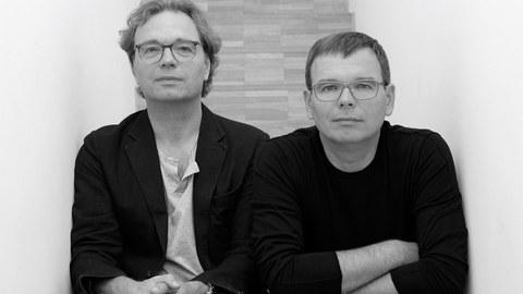 Portrait Ansgar (links) und Benedikt Schulz