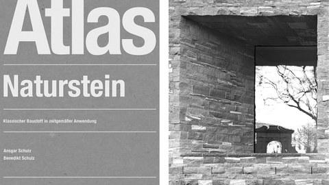 Cover Atlas Naturstein, Besucherzentrum Heidelberg