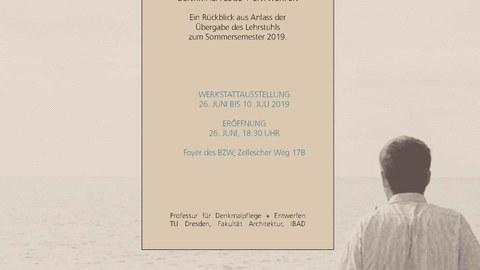Einladung, Ausstellung verlängert bis 2.8.19