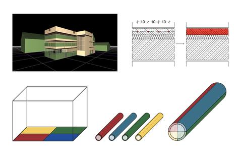 Validierung der Heizungsverteilung der Software BIM HVACTool mit dem Gebäudesimulationssolver NANDRAD