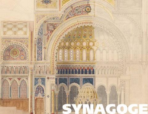 Friedrich August Stüler / Carl Heinrich Eduard Knoblauch: Neue Synagoge, Berlin (1863)