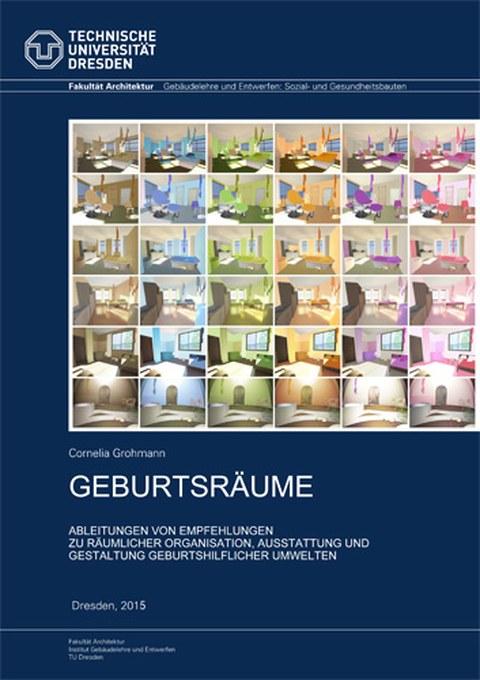 Cover der Dissertation Geburtsräume von C. Grohmann