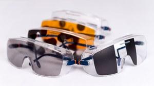 Brillen die eine Seheinschränkung simulieren
