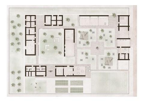 Lageplan Home of Brains