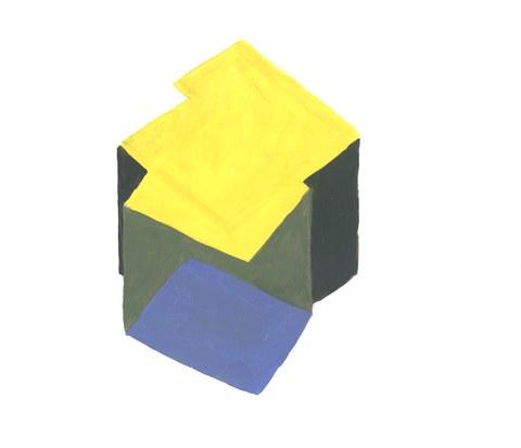 Inken Hamp, Farbmodell Zeichensaal IV