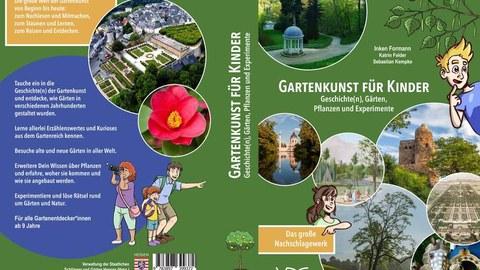 Foto zeigt das Coverbild eines Kinderbuches zur Gartenkunst.