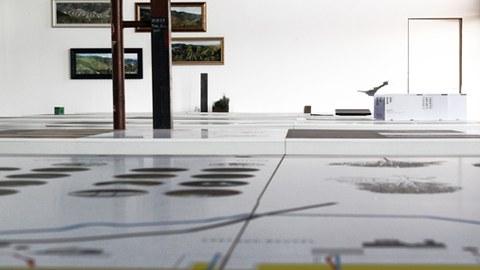 Wiederkehr der Landschaft: Blick in den Ausstellungsraum