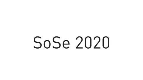 SoSe 2020