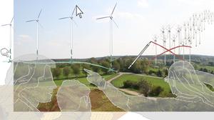 Die Abbildung zeigt eine Collage des Forschungsprojektes Kulturlandschaft gestalten.