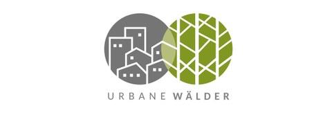 graphische Darstellung des Logos zum Forschungsprojekt Urbaner Wald