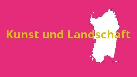 """Ausschnitt des Plakats zur Ankündigung des Workshops """"Kunst und Landschaft"""" auf Sardinien 2019"""