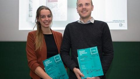 Lhara Collin und Malte Guhlke gewannen einen ersten Preis
