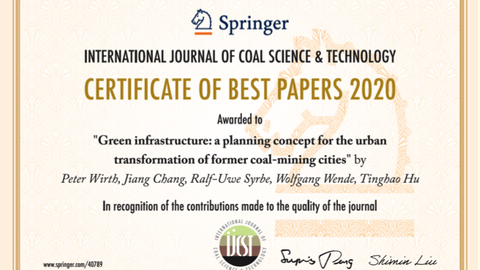 certificate of best papers 2020