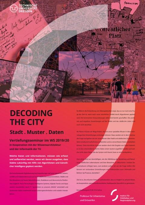 Decpding the City_Plakat