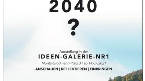 Plakat Ausstellung Glashuette