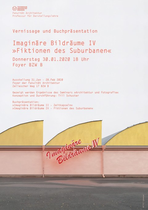Imaginäre Bildräume IV - Fiktionen des Suburbanen