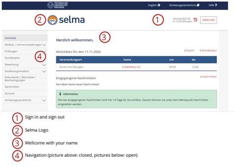 Screenshot Selma