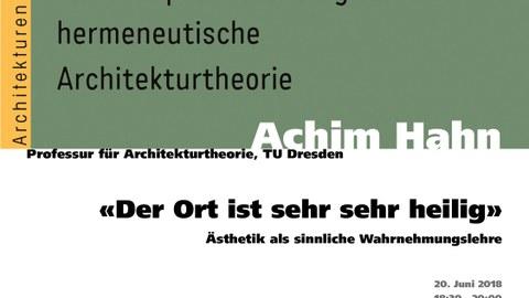 Spannweiten Vortrag Achim Hahn