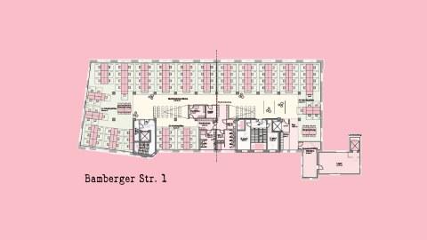 Grundriss Bamberger Straße 1
