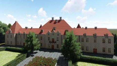 Visualisierung Schloss Steinort