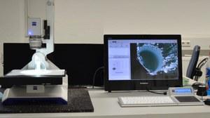 Saum Mikroskopie