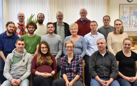 Gruppenbild des Institutes für Geotechnik