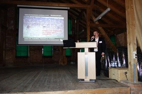 Vortrag über schon durchgeführte Restaurierungen in Heißkalktechnik