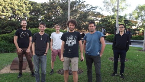 Max with the group of Prof. Itai Einav in Sydney