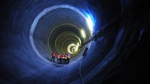 Tunnel nach Bad Cannstadt