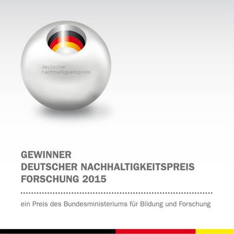 C3 - Gewinner Deutscher Nachhaltigkeitspreis Forschung 2015