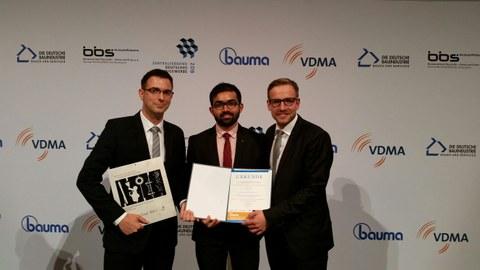 Preisträger bauma Innovationspreis 2016