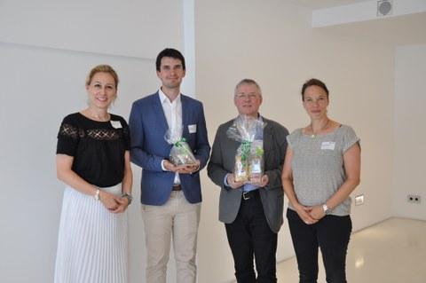 Bild der Gewinner der DGNB Sustainability Challenge 2018