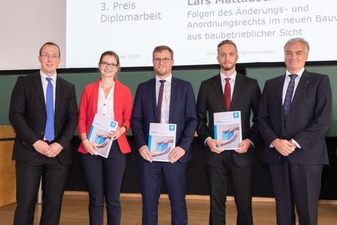 Verleihung Dreßler-Bau-Preis zum Tag der Fakultät 2019