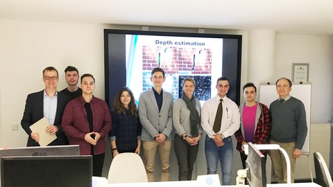 Gruppenbild Euler-Studenten