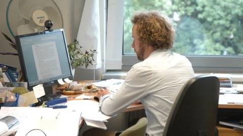 Ansicht Arbeitsplatz Marco Wach