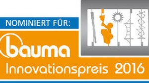 Logo bauma Innovationspreis