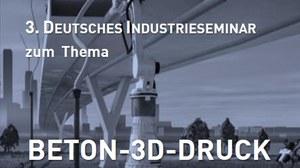 Flyer des 3. Deutschen industrieseminars
