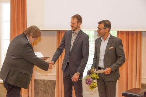 Kurt-Beyer-Preis 2018 für Dr. Sebastian Wilhelm