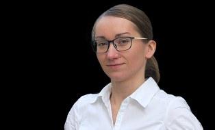 Foto zeigt ein Portrait von Katarzyna Zdanowicz