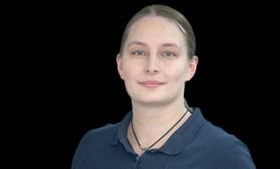 Foto zeigt ein Portrait von Sandra Zagermann