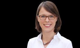 Photo shows a portrait of Ms Marina Stümpel