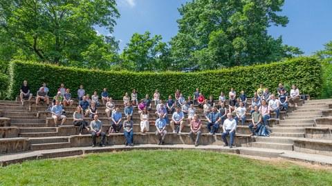 Photo during the institute event in the Parktheater Großer Garten in 2021